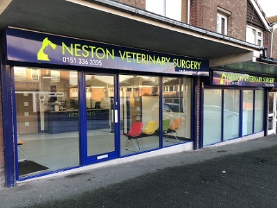 How to find Neston Vets